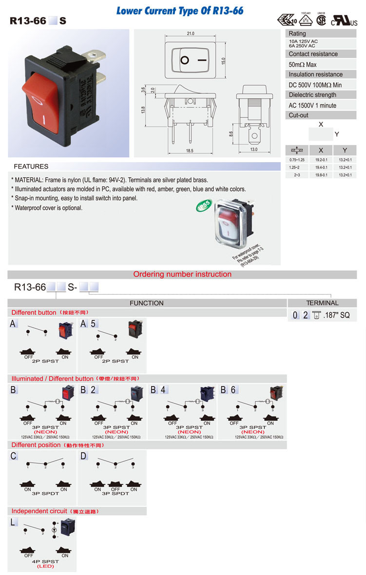 Welcome To Elconindia R13 135 Switch Wiring Diagram 66 S
